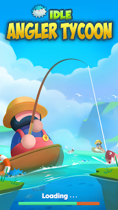 Idle Angler Tycoon MOD APK [Unlimited Money + No Ads] 1
