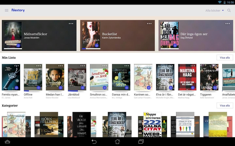 ljudböcker android gratis