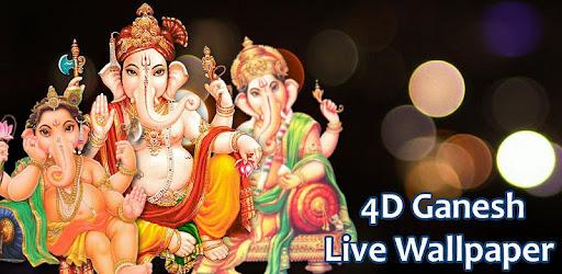 4d Ganesh Live Wallpaper Apps On Google Play