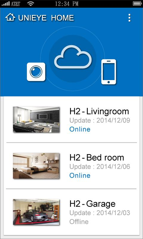 Unieye Home- screenshot