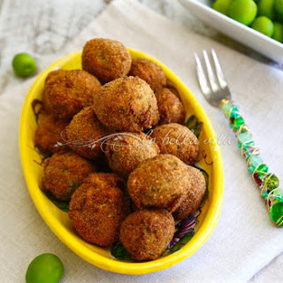 Italian Fried Stuffed Olives - Olive all' Ascolana