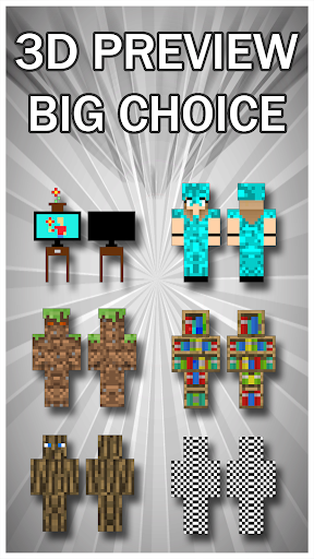 Camouflage Skins For Minecraft PE 1.0 screenshots 3