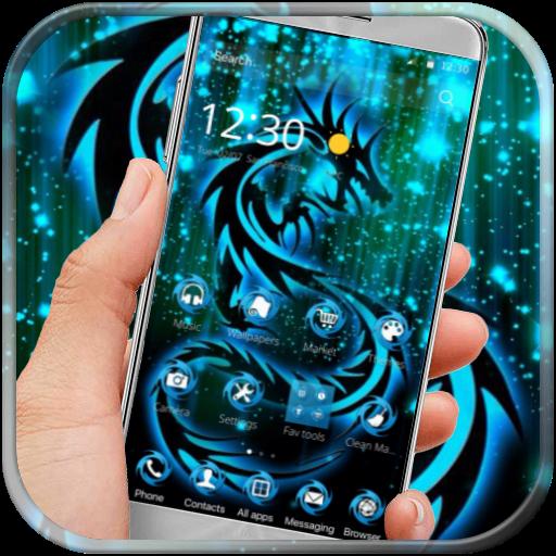 Neon Naga Tato Api Tema Aplikasi Di Google Play