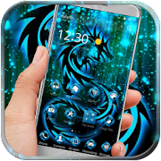 App Neon Dragon tattoo fire theme APK for Windows Phone