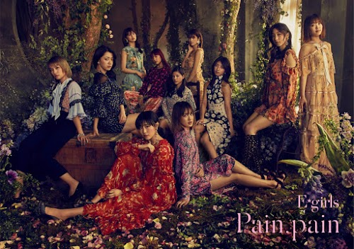 "Capa do single ""Pain, pain"" – CD+DVD+Photobook Edition."