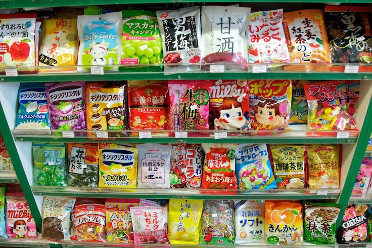 A fraction of the candy selection at H Mart. Photo: shopikon.