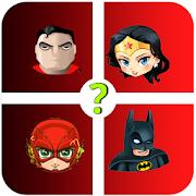Adivina los personajes de DC. Quiz de Superhéroes