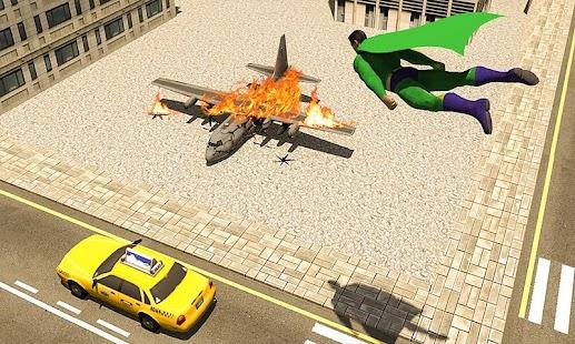 Flying Super Hero: Battle Field - náhled