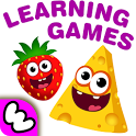 FunnyFood Kindergarten learning games for toddlers icon