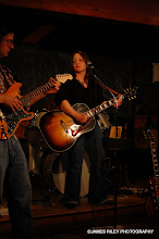 Photo: Kelsey Reiber playing with Steve Schwartz at Dutch's in Rock Hill, NY, in March of 2010