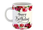 Happy Birthday Joy and Light Ceramic Coffee Mug