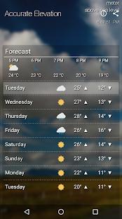 HyperLocal Weather ⛅ ِِby Current Elevation - náhled