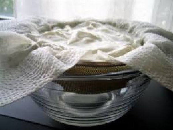 What you need: A colander or fine mesh strainer. Cheese cloth or muslin or...