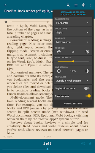 ReadEra - book reader pdf, epub, word 19.12.27+1120 screenshots 21