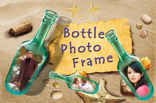 Bottle Photo Frame