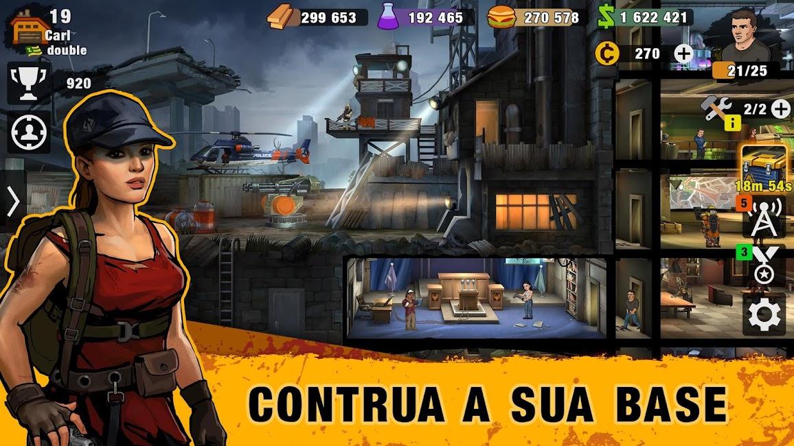 Zero City Zombie Shelter Survival Apk Mod (Alto Dano) 1