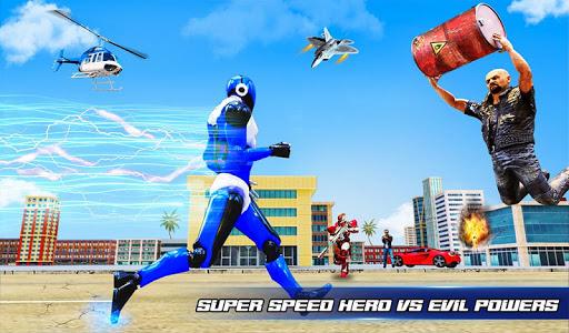 Grand Police Robot Speed Hero City Cop Robot Games 4.0.0 screenshots 10