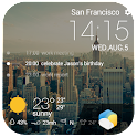 Beautiful Time Weather Widget icon