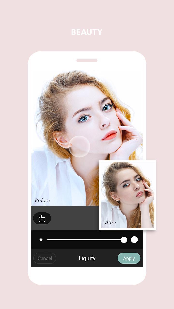 Cymera - Photo & Beauty Editor screenshot #9