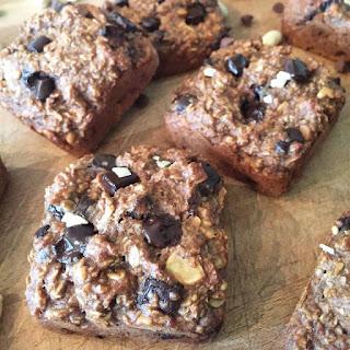 Peanut Butter & Banana Bars - 150 Calories! Recipe
