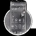 Rainy Water Glass Theme icon