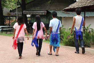 Photo: Year 2 Day 54 -  Young People Enjoying Themselves at Kandawgyi Lake