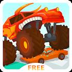 Monster Truck Go for kids Free icon