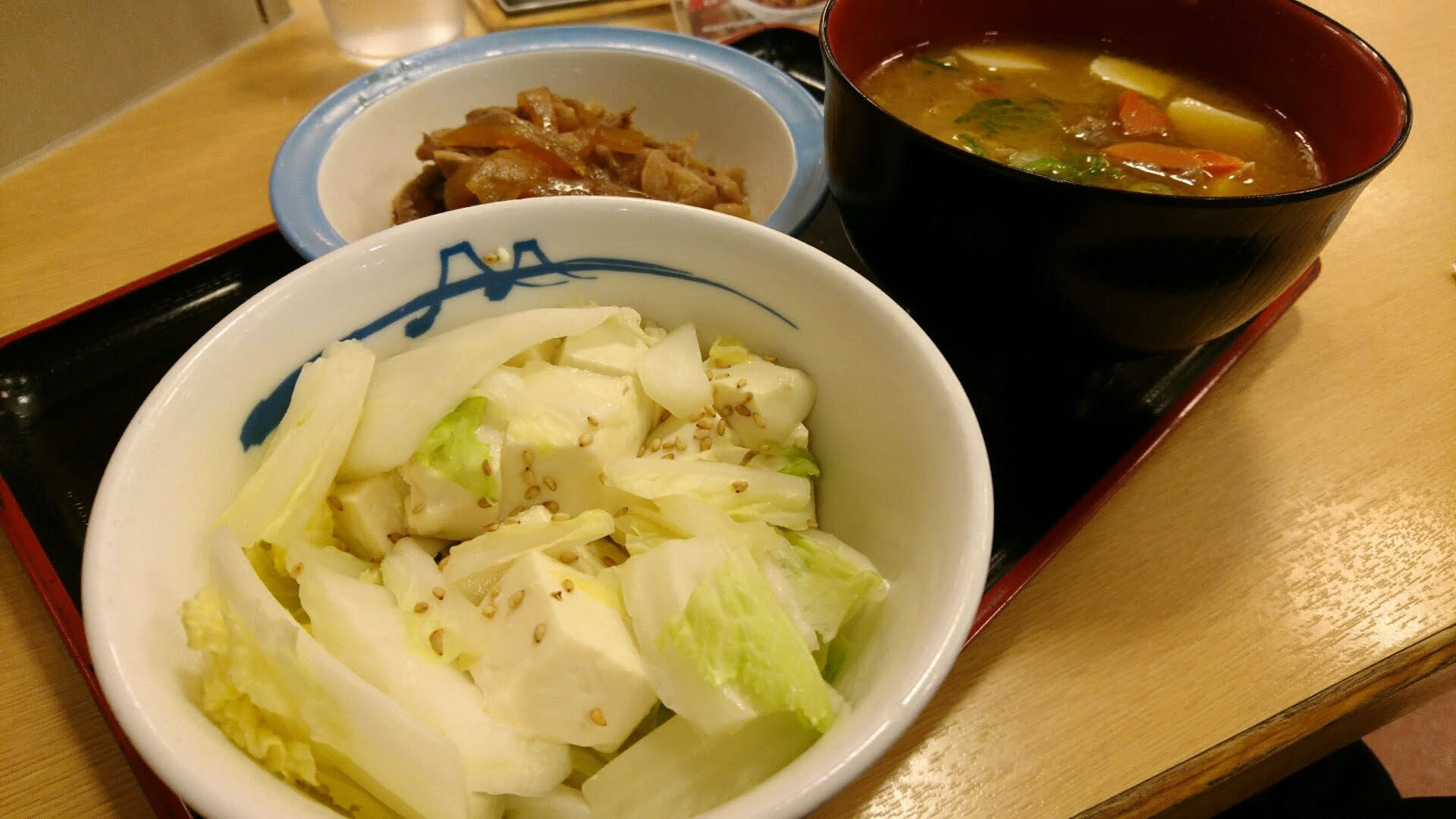 松屋の温豆腐