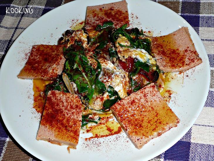 Scrambled Arugula Eggs with Cod Liver Recipe