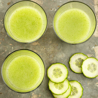 Cucumber-Mint Hydration Smoothie