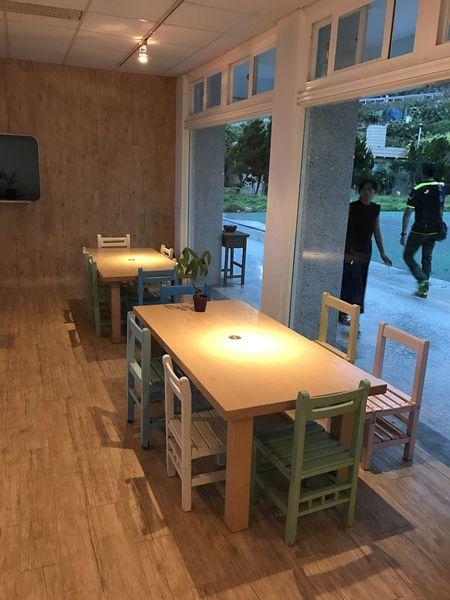 白日夢Tea & Café -重溫小學時光的咖啡廳!! 起立、立正、敬禮、~~~老師好!!同學們~上課嚕!! 石門海岸看海喝咖啡!