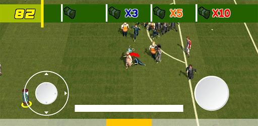 Fat football run! 3d game! Fan on a field! cheat hacks