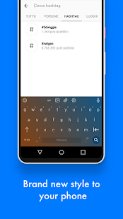 Chrooma Keyboard + Proofreader Screenshot