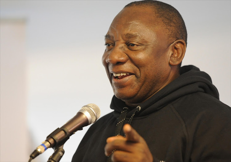 ANC Deputy president Cyril Ramaphosa. File photo.