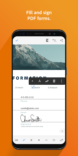 Adobe Acrobat Reader 18.5.1.8310 screenshots 3