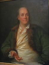 Photo: Benjamin Franklin, présent partout