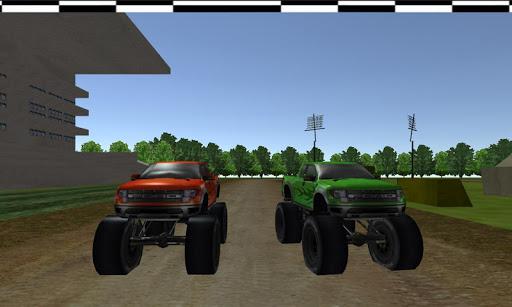 Monster Truck Speedway Racing