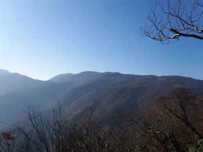 山頂の岩場から展望3(御池岳)