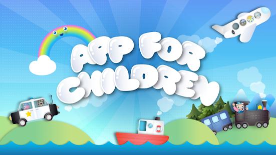 app for children kids games 1 2 3