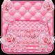 Pink Love Rose Glitter Keyboard Theme APK