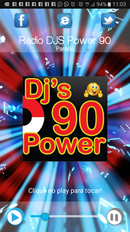 DJS POWER 90: captura de tela