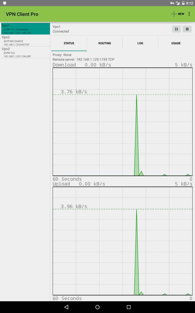 VPN Client Pro Screenshot 8