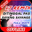 Lagu Ditinggal Pas Sayang Sayange DJ Remix Offline icon