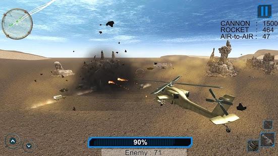 ? Gunship Helicopter Strike ? 3D Battle Chaos - náhled