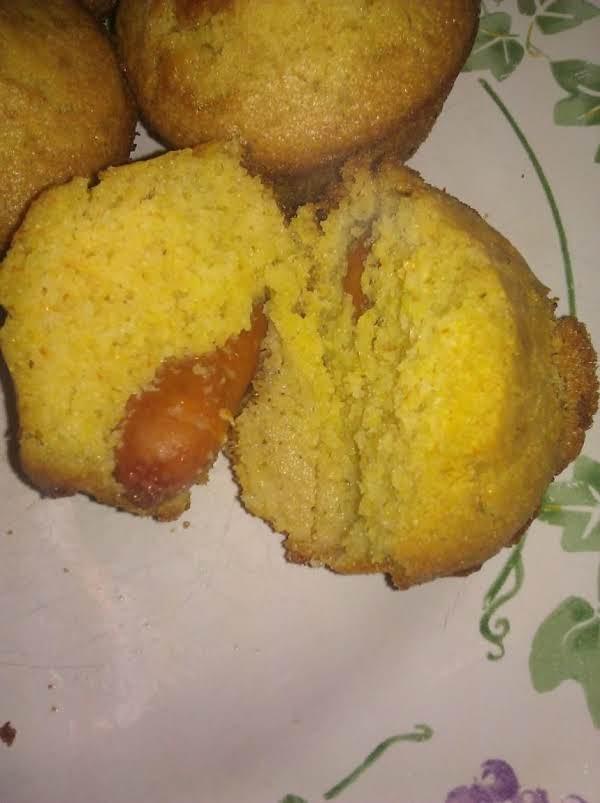 Finish Lil Smokies Corndog Muffins