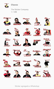 Chavez y Venezuela Stickers para WhatsApp Screenshot