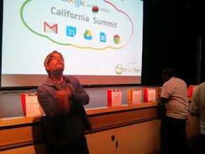 Photo: Richard DeVaul Juggling Before The Keynote!