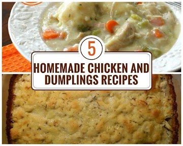 5 Homemade Chicken And Dumplings Recipes