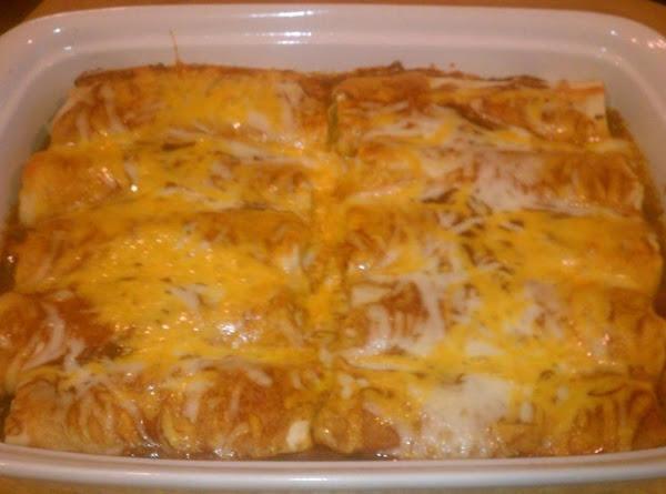 Enchilada Night Beef & Cheese Enchiladas Recipe