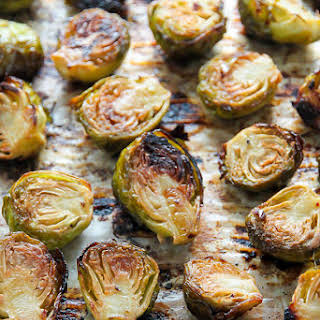 Sicilian Roasted Brussels Sprouts.
